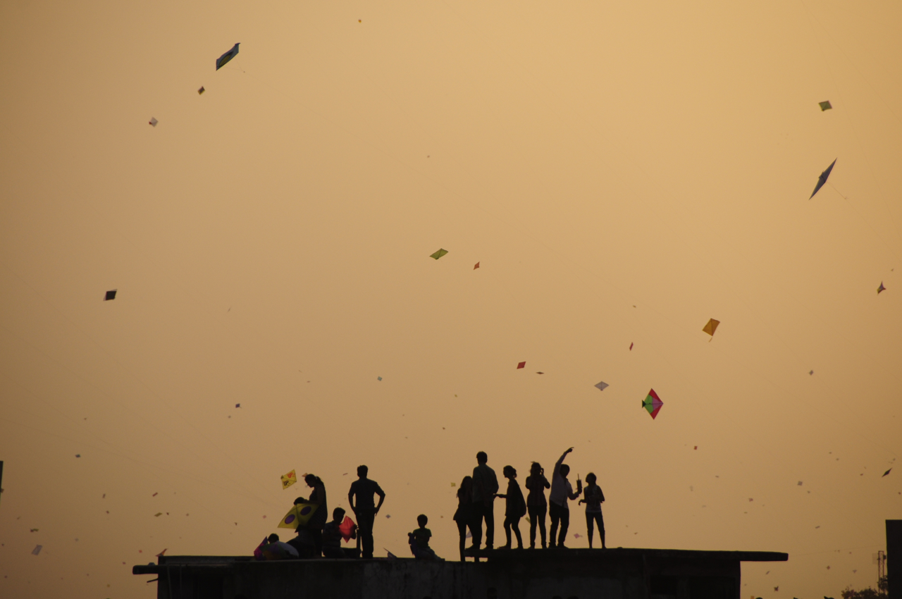 India is celebrating the kite festival and you should join in all