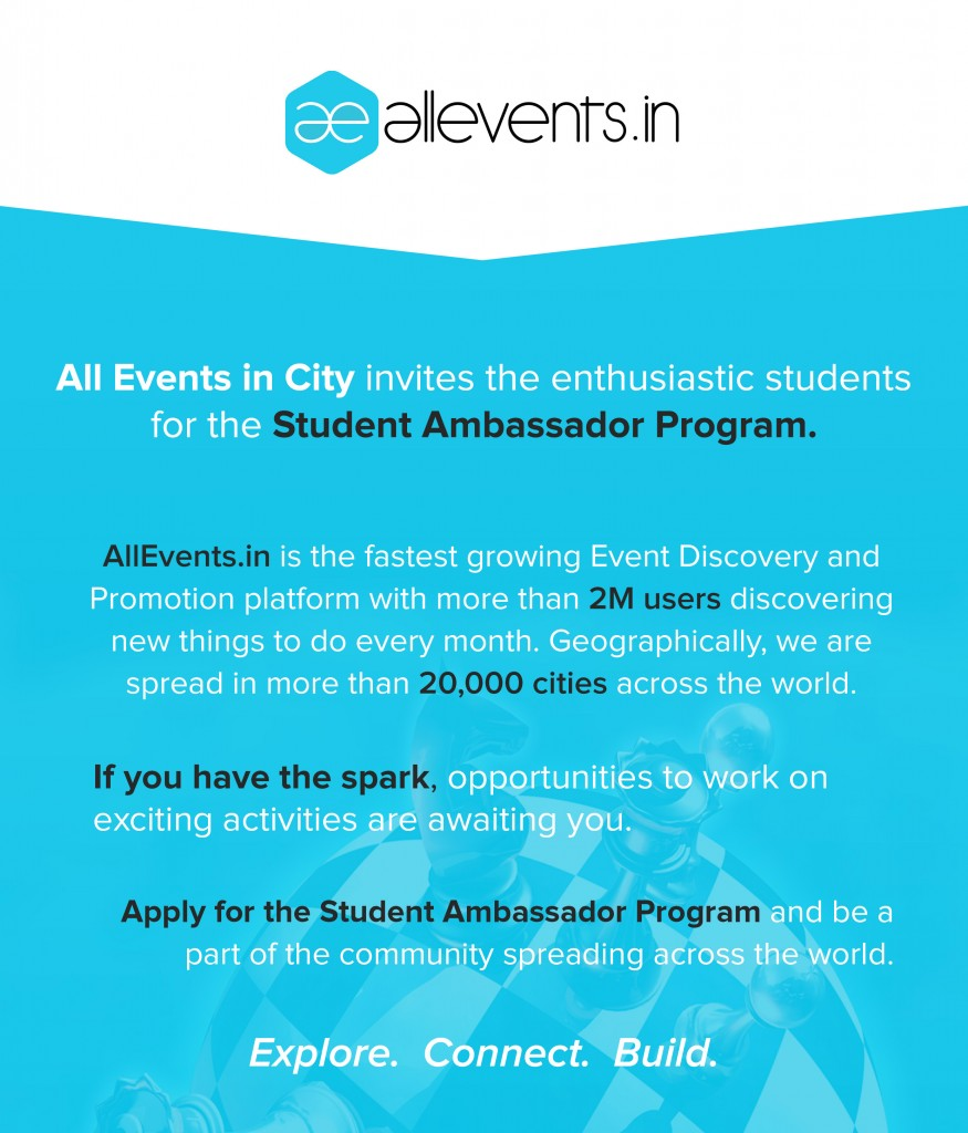 All Events in City Student Ambassador program